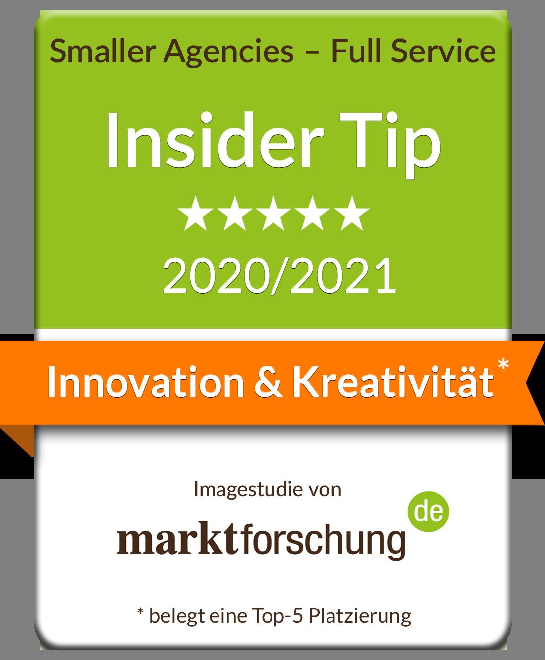 marktforschung.de Innovation & Kreativität