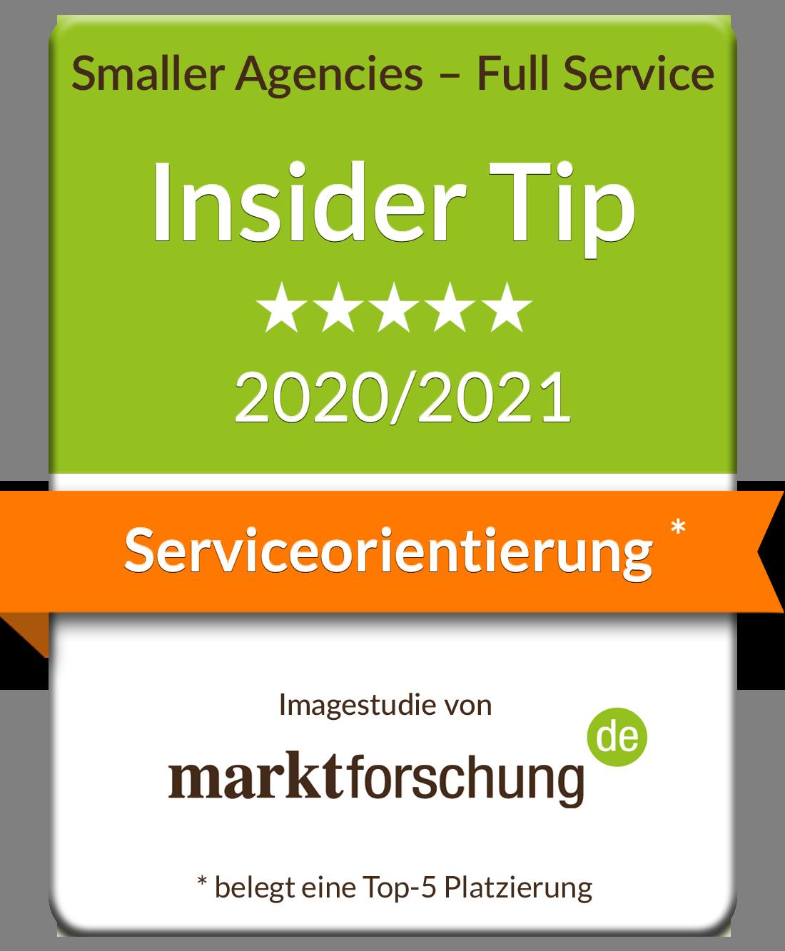 marktforschung.de Serviceorientierung